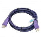 Millionwell USB 2.0 Male to Male Data Cable - Purple (3m)