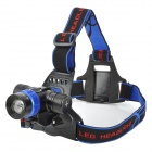 UltraFire XQ-13 500lm 3-Mode White Zooming Hunt Headlamp w/ Cree XM-L T6 - Black + Blue (1 x 18650)