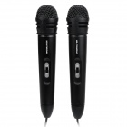HD-HYNUDAL K5 Portable Karaoke Microphone Set for Cellphone / Tablet PC - Black