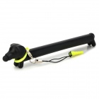 Cartoon Long Body Dog Style Capacitive Screen Stylus Pen w/ Anti-Dust Plug for Iphone / Ipad - Black