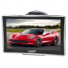 "CAPF DH960 7.0"" TFT Win CE 6.0 Car GPS Navigator w/ FM Transmitter / Built-in 4GB Memory - Black"