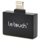 LeTouch iFit5 30-Pin Female to 8-Pin Lightning Male Adapter for iPhone 5 / iPad 4 / Mini - Black