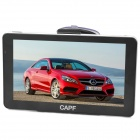 "CAPF DH970B 7"" TFT Win CE 6.0 Car GPS Navigator w/ FM Transmitter / Bluetooth / TF - Black"