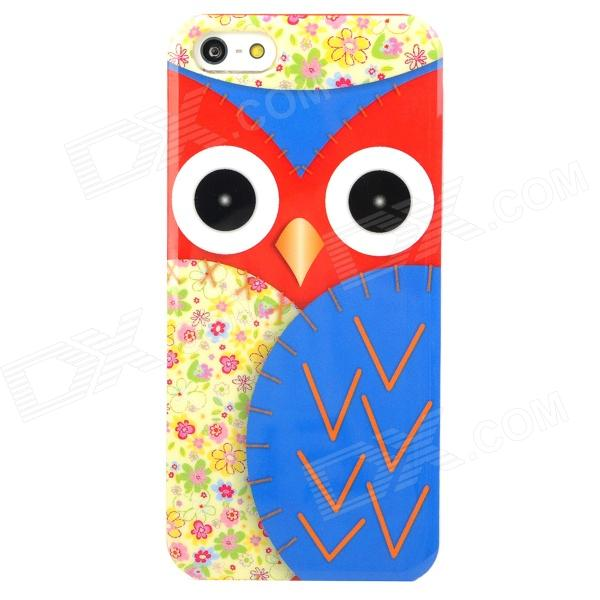 все цены на  Owl Style Protective Plastic Back Case for Iphone 5 - Multicolor  онлайн
