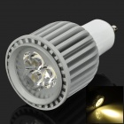GU10 6W 3200k 360lm 3-LED Warm White Light Bulb (85 ~ 265V)