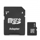 High Speed Memory TF / Micro SDHC Car w/ TF to SD Card Adapter (8GB / Class 10)