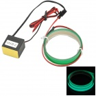 Waterproof 0.5W 20lm 560nm 1-LED Green Light Decorative Lamp - Green (55cm)