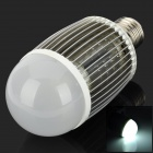 E27 7W 6000k 700lm 7-LED White Light Bulb (85~265V)
