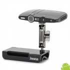 Jesurun HD2 Dual-Core Android 4.2.2 Google TV Player w / 1GB RAM / 8GB ROM / 5.0 MP Kamera - Schwarz