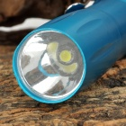 HHL-AA-01-LANSE LED 50lm White Flashlight w/ Clip - Blue (1 x AA)