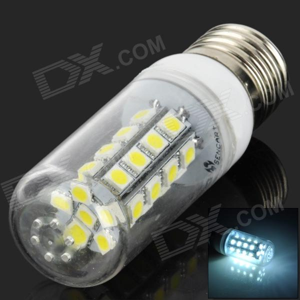 SENCART E27 6700K 160lm 30-SMD 5050 LED White Light Bulb - White + Transparent (12-24V) nokia 6700 classic illuvial