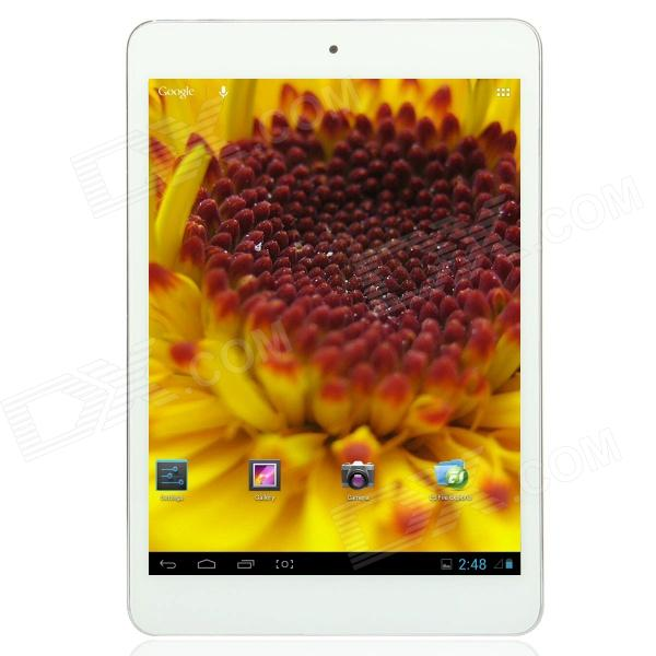 "785pad Quad Core 7.85 ""IPS Android 4.1 Tablet PC ж / 16 Гб ROM / RAM 1GB / + Bluetooth - белый + серебристый"
