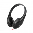 DITMO DM-4700 Stereo Headphones for Iphone / Ipad / Ipod - Black (3.5mm Plug / 1.2m)