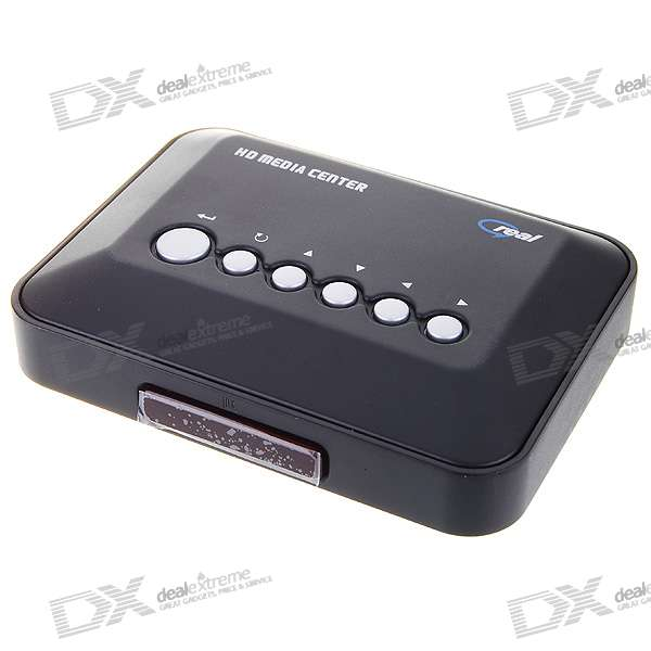 DiyoMate 720p HDMI HD Media Center TV Player RM/RMVB/AVI/MPEG4 с 2 * USB Host и SDHC