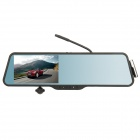 "PE11 5.0"" Capacitive Screen Android 4.0 Rearview Mirror Car GPS DVR Camcorder - Black"