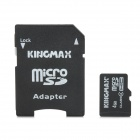 KINGMAX Memory TF / Micro SDHC Card w/ TF to SD Card Adapter (4GB / Class 4)