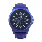 Super speed V0099 Fashionable Quartz Wrist Watch for Man - Blue + Black + White (1 x LR626)