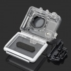 Professional Side Open Protective Case  for Gopro Hero3 - Transparent + Black