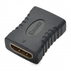 MILLIONWELL 01.0436 24K Gold-Plated HDMI 1.4 Female to Female Adapter - Black