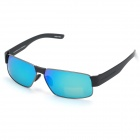 OREKA 8259 Cool UV400 Polarized Anti-glare Resin REVO Lens Sunglasses - Gray + Black