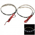 3W 240lm 6000K 15-335 SMD Cold White Car Lamp Strips