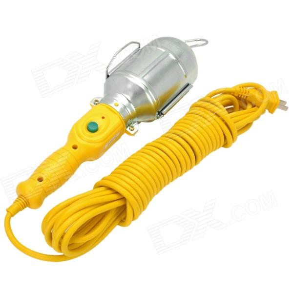 Explosion Protection Outdoor Construction Engineering Lamp w/ Hook - Silver + Yellow (10m)