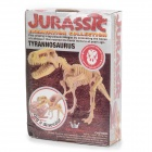 BWL-01 Tyrannosaurus Dinosaur Skeleton Model Excavation Archaeology Toy Kit - White