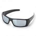NBIKE BE02-1 Cool UV400 Polarized Anti-glare REVO Resin Lens Sunglasses - Black