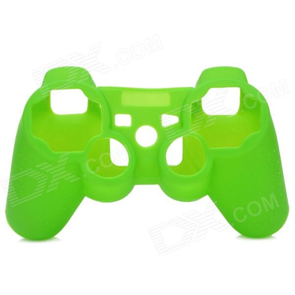 Protective Soft Silicone Case for PS3 Controller - Green