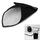 Dustgo PW-A02 Portable Waterproof Fabric + Flannel Wrapping Bag for Camera - Black + White