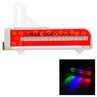 WH-88 Cycling Waterproof 16-LED Multicolored Light Bicycle Wheel Lamp - Red + White