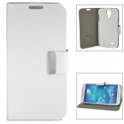 ALIS Stylish Flip-open Protective PU Leather Case for Samsung Galaxy S4 i9500 - White
