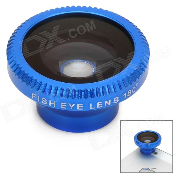 Lesung Universal 180 Degree Fisheye Lens for Digital Cameras and Cell Phones - Blue + Argent lesung universal 180 degree fisheye lens for digital cameras and cell phones blue argent