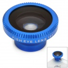 Lesung Universal 180 Degree Fisheye Lens for Digital Cameras and Cell Phones - Blue + Argent