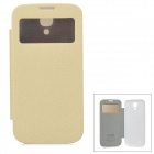 KALAIDENG LXS9500 Protective Ultrathin Case for Samsung Galaxy S4 i9500 - Beige + White