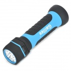 Galilee Rechargeable 30lm/106lm 2-Mode Retractable Bezel White LED Flashlight - Blue + Black