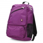Oiwas OCB4105 Fashionable Water Resistant Unisex Laptop Traveling Backpack - Purple (19L)