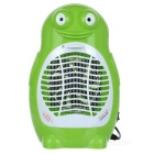 Frog Shape Electric Purple Light Mosquito Killer - Green + White (2-Flat-Pin Plug / 220V)
