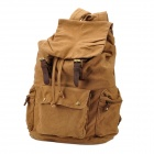 Lässige Multifunktionale Retro Canvas Backpack Bag - Khaki