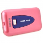 L-7500 External 7500mAh Power Battery Charger w/ LED Flashlight for iPhone / iPad - Pink