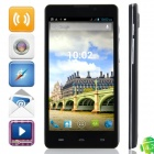 "Q9000 MTK6589 Quad-Core Android 4.2.1 WCDMA Bar Phone w/ 5.0"" HD , Wi-Fi, FM and GPS - Black"