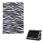 Protective PU Leather Case for Amazon Kindle Fire - Black + White