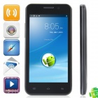 W100 MTK6589 Quad-Core Android 4.2.1 WCDMA Bar Phone w/ 4.5' QHD, Wi-Fi and GPS - Black