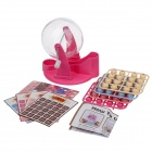 Creative Lucky Bingo Game Hand Toy - Pink + Beige + Blue