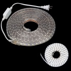 ZIYU JB051 60W 6500K 4500lm 300-SMD 5050 White Light Strip (5m / 220V / 2-Flat-Pin Plug)