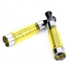 M3324 CE5 Round Mouth Atomizer for Electronic Cigarette - Yellow (2 PCS)