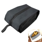 WELLHOUSE Portable Traveling Zippered Shoes Bag - Black