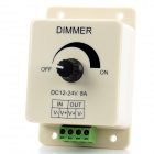 JR 12 ~ 24V LED Light Modulator Dimmer - Cremoso Branco + Preto + Verde