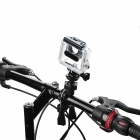 Miniisw M-B4 Fast Assembling Bike Handlebar Mount for GoPro - Black