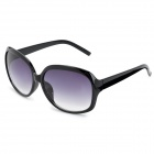 CY8288 UV400 Protection PC Frame Resin Lens Sunglasses for Women - Black